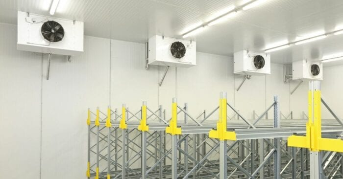 warehouse with climate control